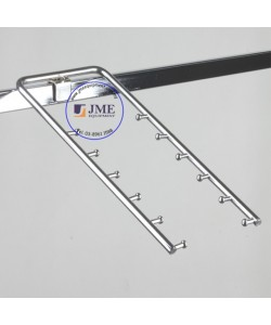 Square Bar Racket Holder Hook